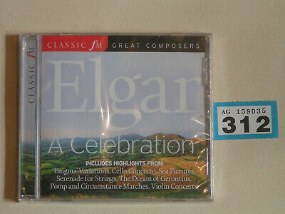 Elgar - A Celebration: Classic Fm Great Composers 151 NEW/SEALED (312) • 6.99£