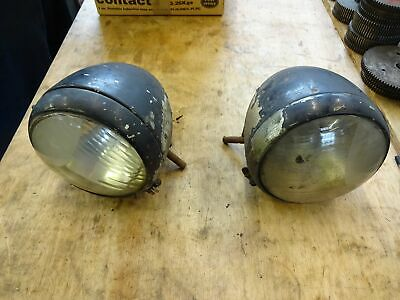E27N / E83W Fordson Front Headlamps Pair Off • 500£