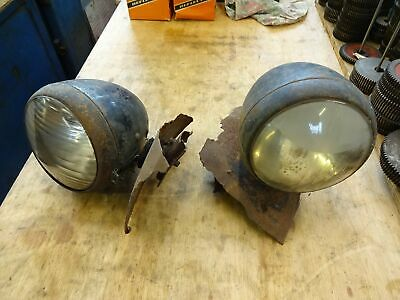 Fordson E27N / E83W Front Headlamps Pair Off • 500£