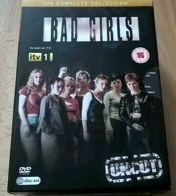 Bad Girls Uncut The Complete Collection - 28 Disc Set - ITV Drama -  Rare • 50£
