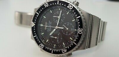 $ CDN461.19 • Buy Vintage Seiko Chronograph Quartz Watch 7a28-7040 Made In Japan