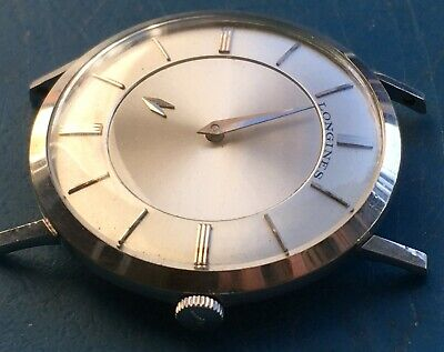 $ CDN264.28 • Buy Vintage Longines 10K White Gold Filled Mystery Dial Mechanical Wind Up Men Watch