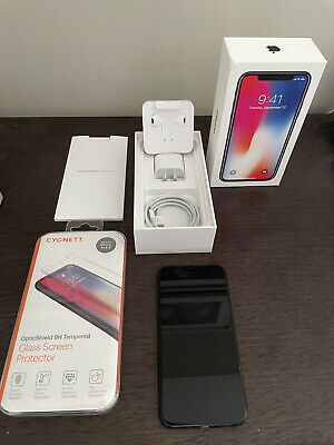 AU410 • Buy Apple IPhone X - 256GB - Space Grey (Unlocked) A1865 Excellent Condition