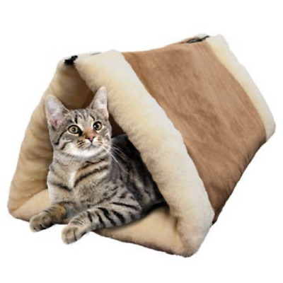 2-In-1 Cat Tunnel & Bed With Heating Layer • 18.85£