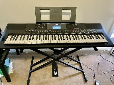 AU650 • Buy Yamaha PSR-EW410 76-key Keyboard With Heavy Duty Stand & Yamaha Sustain Pedal