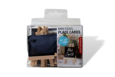£21 • Buy Mini Set Of 6 Chalkboard Easel Place Cards Wedding Crafts
