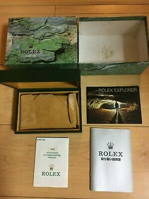 $ CDN273.09 • Buy GENUINE ROLEX Explorer 114270 Watch Box Case 68.00.02 Booklet  Guarantee