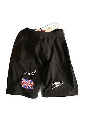 "BNWT Official Team GB Racing Jammers Speedo LZR Racer Elite Size 26"" • 59.99£"