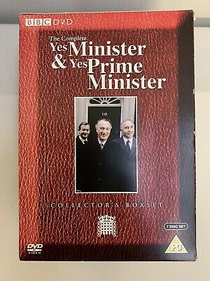 Yes Minister And Yes Prime Minister Complete DVD Box Set - UK • 15£