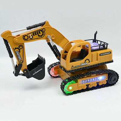 Excavator Rc Truck Childrens Jcb Construction Digger Toy Remote Controlled Gift • 21.68£