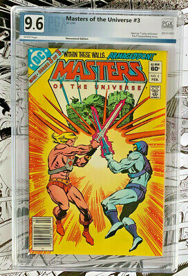 $59 • Buy MASTERS OF THE UNIVERSE #3  |  PGX 9.6  |  Newsstand Edition  |  White Pages