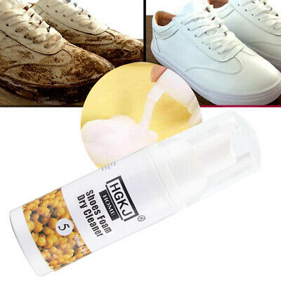 ML Spray Type Dirty Waterless Foam Dry Cleaning Agent Stain Remove Shoes • 8.14£