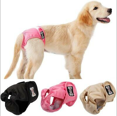 £7.55 • Buy Female Dog Sanitary Pet Physiological Pants Hygienic Bitch Underwear Diapers UK