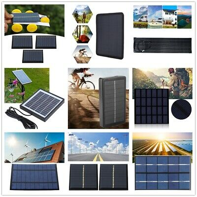 $8.09 • Buy Multifunctional Portable Mini Solar Panel Charger For Power Bank Mobile Phone