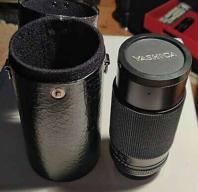 YASHICA ML 80-200 Mm F/4 Zoom - Superb Condition • 75£