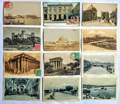 22 Old Postcards From Malta (from 1913) • 7£