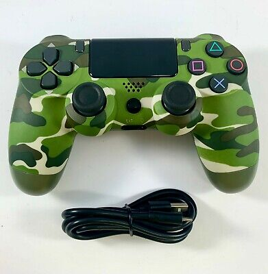 AU41.95 • Buy PS4 Controller Wireless V2 DualShock 4 GREEN CAMOUFLAGE For Playstation 4 *NEW*
