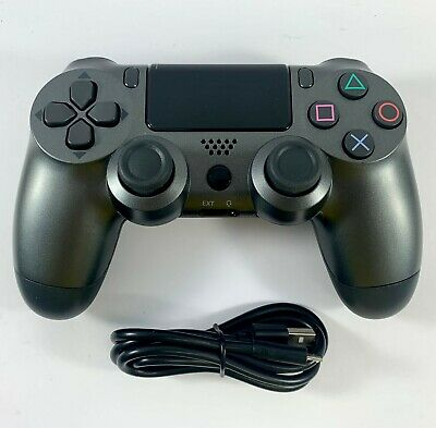 AU41.95 • Buy PS4 Controller Wireless DualShock 4 V2 STEEL GREY - For Playstation 4 *NEW*