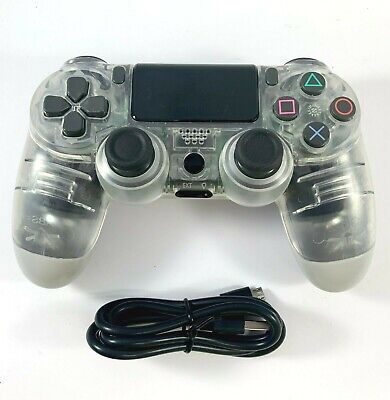 AU41.95 • Buy PS4 Controller Wireless DualShock 4 V2 CLEAR WHITE - For Playstation 4 *NEW*