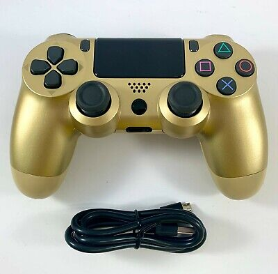 AU41.95 • Buy PS4 Controller Wireless DualShock 4 V2 - GOLD - For Playstation 4 *NEW*
