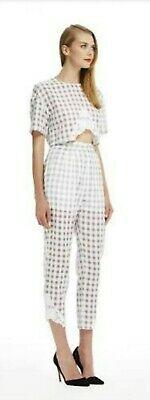 AU69 • Buy Alice McCall Gingham Crop Top And Pants Set