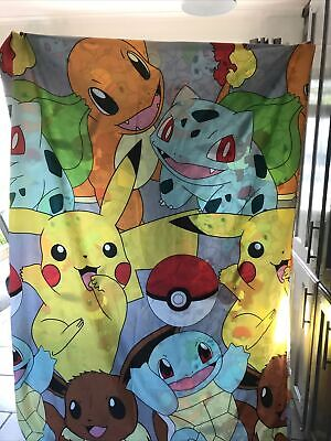 Pokemon Single Bedding  Excellent Condition Reversible • 2.50£
