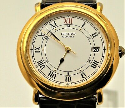$ CDN82.95 • Buy Rare 5Y32-6A29 Seiko Dress Roman Numeral, Very Slimm, Good Cond. Works Strong.