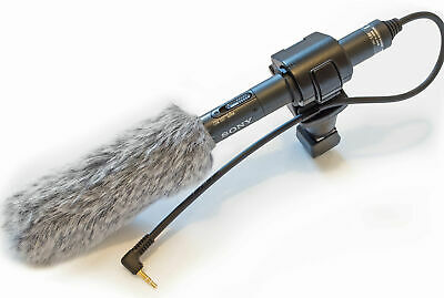 Sony ECM CG50 Shotgun Microphone Mic DSLR And Video Cameras VLOG Similar To CG60 • 99£