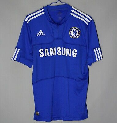 Chelsea London 2009/2010 Home Football Shirt Jersey Adidas Size S Adult • 24.99£