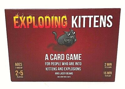 AU32.71 • Buy Exploding Kittens Card Game NEW