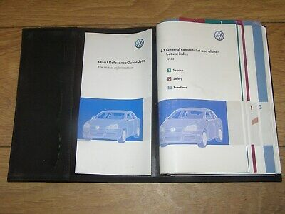 $38.61 • Buy Volkswagen Jetta Owners Manual Handbook Pack 2005 - 2010. Free Uk Postage