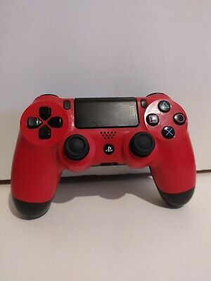 AU57.90 • Buy Genuine Official Playstation 4 PS4 Red Controller