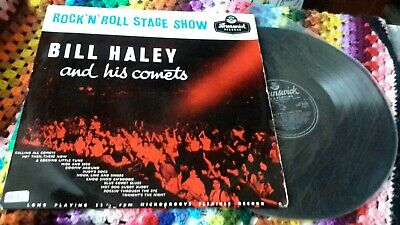 Bill Haley And His Comets ‎– Rock 'N Roll Stage Show Vinyl  LP 33 RPM • 10£