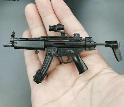 £6.99 • Buy 1/6 Scale HK MP5 Rifle Gun Weapon Military Toy For 12  Action Figure Soldier UK