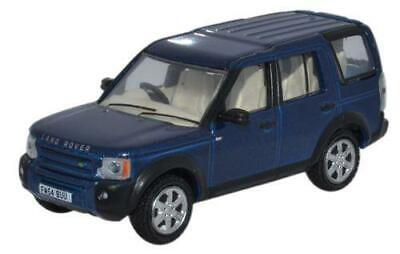 Oxford Diecast 76LRD006 Land Rover Discovery 3 Cairns Blue Metallic • 5.95£
