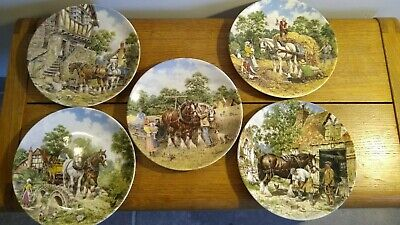 £15 • Buy Wedgewood Life On The Farm Plate Collection X 5