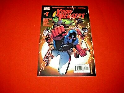 YOUNG AVENGERS 1 1st App KATE BISHOP HULKING WICCAN PATRIOT IRON LAD 2005 VF+/NM • 60£