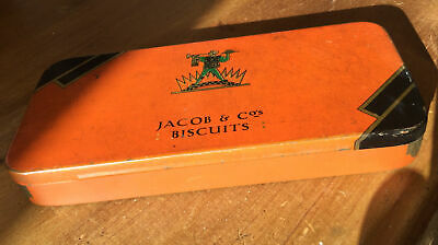 £22 • Buy Early Jacob & Co Biscuits Cream Cracker Sample Tin C. 1900