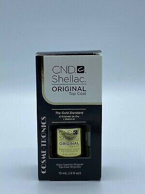 AU23.19 • Buy CND SHELLAC ORIGINAL Top Coat - UV LED Gel Power Polish 0.5 Oz 15 ML - BOXED