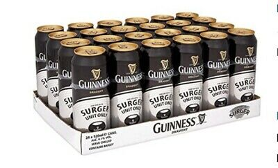 Guinness Surger Cans X 24 • 50£