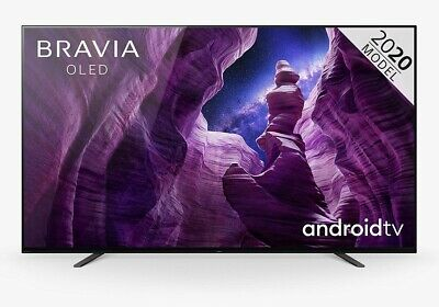 Sony Bravia KD55A8 (2020) 55  Smart 4K Ultra HD HDR OLED Android TV C Grade • 895.99£
