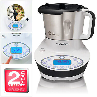 MORPHY RICHARDS SUPREME PRECISION 10-in-1 AUTOMATIC MULTICOOKER DIGITAL DISPLAY • 89.99£