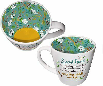 Inside Out Mug - Special Friend ISO158 - Tea Or Coffee Mug New Gift Boxed • 9.95£