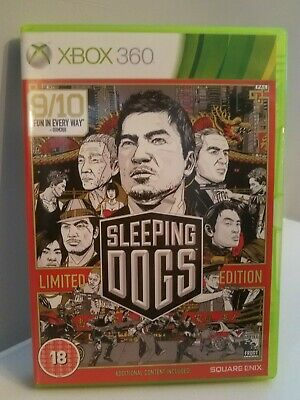 £4.99 • Buy Sleeping Dogs Limited Edition - Xbox 360 Game Complete