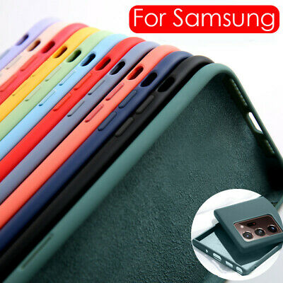 $ CDN3.91 • Buy Liquid Silicone Phone Case Cover For Samsung Galaxy Note 20 Ultra S20 FE S10 S9