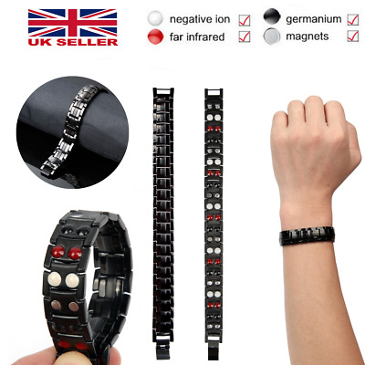 £7.49 • Buy Magnetic Health Bracelet Carpal Tunnel Arthritis Bio Therapy Chronic Pain Relief