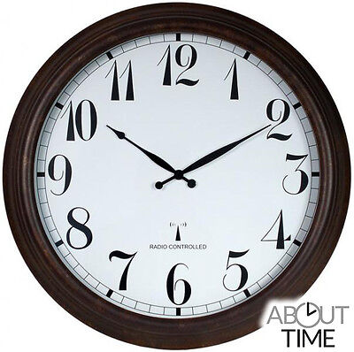 £106.99 • Buy 57.5cm (23 ) Perfect Time Radio Controlled Outdoor Garden Clock By About Time