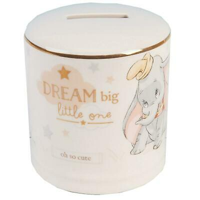 Disney Magical Beginnings Ceramic Money Box Bank Gift - Dumbo • 11.94£