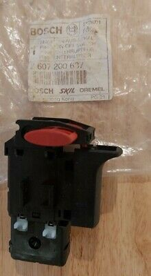 Bosch Spare Part 2607200637  On Off Switch For Pst800 Pel • 9.95£