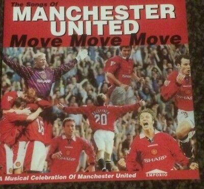 Various Artists - Songs Of Manchester United (1997) Cd Album • 2.99£